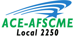 Association of Classified Employees, AFSCME Local 2250 logo